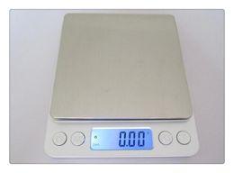Ouro pesa on-line-Balança de jóias de alta precisão em miniatura de jóias de ouro medicina eletrônica gramas pesam 0.01 g balança escala de cozinha