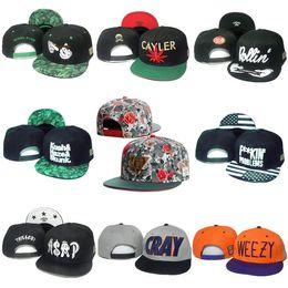 Wholesale Cray Hat - 31 Styles Cayler & Sons Caps Snapback Mens Women Hats Biggie Brooklyn Cap Snap Backs Sport ASAP WEEZY CRAY Hat Golden Logo Cheap Sale
