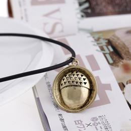 Eichelschmuck online-Bilbo Baggin Halskette Film Schmuck Der Hobbit Eine unerwartete Reise Halskette Schmuck Eichelknopf Anhänger Halskette