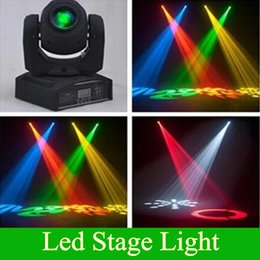 Wholesale Led Disco Spot - LED 8colors 10W 30W spots Light DMX Stage Spot Moving 8 11 Channels Mini LED Moving-Head lighting for DJ Effect lights Dance Disco