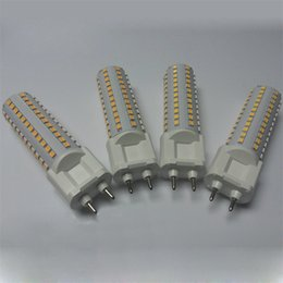 Wholesale Cdm Wholesalers - A+ LED corn light G12 PL PLL light horizontal cross plug lamp 15W 20W 108leds 144leds smd2835 AC85~265V cdm-t floor walllight downlight