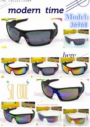 Wholesale Punk Sunglasses - New Reflective Europe and America Travel Sports Outdoors Outside Trip Punk Unisex Fashion Brand design Oil Rig Big Eyewear Sunglasses 36968