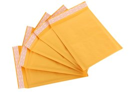 Wholesale Mail Envelopes - Hot Sales Kraft Bubble Mailers Padded Bubble Envelopes Bags Envelope Mailing Bag Free Shipping 30pcs lot