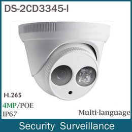 Wholesale Wired Cctv Dome Cameras - HIKVISION DS-2CD2345-I HD 4MP Dome PoE Home EXIR Turrt Security CCTV IP Camera