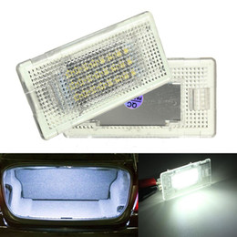 Wholesale Bmw E39 License Plate Light - Error Free 24 LED Interior Luggage Compartment Light Trunk Boot Glove Box Lamp Fit For B M W E36 E38 E39 E46 E60 E66 E88 E90 E92