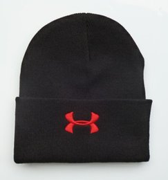 Wholesale Beanies Knitted Hats For Men - 2017 For Women and Men popular fashion winter hat Winter Beanie Knitted Hats Sport Casual beanies good quality