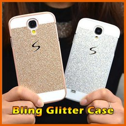 Wholesale Note3 Leather Cover - Fashion Luxury Bling Glitter rhinestone Hard Back Case Cover Skin For Samsung S5 S6 S7 Edge Note3 Note4 Note 5 G530