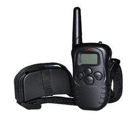 Wholesale Dog Bark Stop Trainer - S5Q LCD Exercise Dog Trainer Remote Vibration Stop Barking Dog Training Device AAAGFT