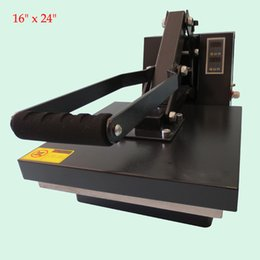 "Wholesale Machine Digital Sublimation - Hot sale 16"" x 24"" Flat Heat Press Machine Rosin Press sublimation equipment Adjustable digital temperature control"