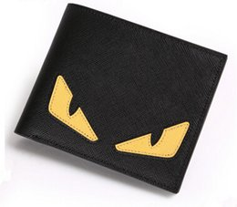 Wholesale Korea Coin Purses - High quality Japan and South Korea style New Fashion Little Monster Designer Genuine leather Lady Purse Personality