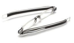 Argentina Hombres gafas de lectura de las mujeres en general gafas presbíticas Doblar la lente óptica de los ancianos Rotar 360 grados de resina de alta definición 7 colores 100-400 envío gratis Suministro