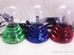 Wholesale Electrostatic Lamp - Luminous lightning magic ball electrostatic ion ball magic USB interface creative birthday gift wholesale magic ball magic lamp