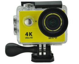 2019 lentes d Eken câmera ação remota ultra hd 4 k wifi esporte câmera 1080 P / 60fps 2.0 LCD 170D Lens Capacete Cam Ir Pro Câmera À Prova D 'Água