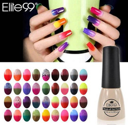 Wholesale Uv Color Gels - Color Changing Nail Polish Chameleon Gel Need UV Lamp Curing 96 Color 7ml Art Gel To Pick For Nail Art DIY Decoration