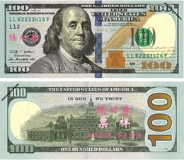 Wholesale Movies Types - $1 2 5 10 20 50 100 Dollars Fake Paper Money Bank USA Training Banknotes Bank Staff Learning Dollars Movie Props Money Commemorative