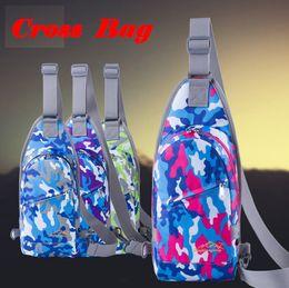Wholesale Padded Flower Appliques - Cross Bag Mini For Girl Men Woman Causal Bags Shoulder Bag 12 Colors 183cm *18cm *400cm Cover Wallet Pad Outdoor Waist Bag out105