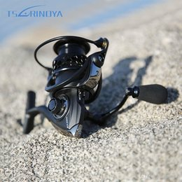 Wholesale Saltwater Trolling Reels - New TSURINOYA Fishing Reel NA2000 3000 4000 5000 9BB 5:2:1 Spinning Fishing Reel Fish Tool Fishing Reel Durable Practical TB