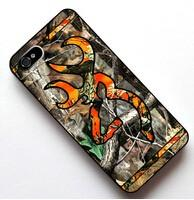 Wholesale Galaxy S4 Camo - Wholesale-Browning Camo Orange Logo cases for iPhone 4 5s 5c 6 6s iPod touch 4 5 6 Samsung Galaxy s2 s3 s4 s5 mini s6 s7 edge note 2 3 4 5