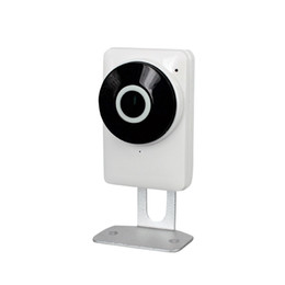 Wholesale Eye Camera Wireless - 3D panoramic Fish Eye Lens IP Camera Wifi Wireless Night Version Support 128G SD Card Panorama view horizontal 185 Degree