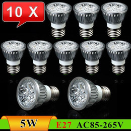 Canada 10pcs / lot E27 5W luminosité haute luminosité Downlight LED Spot Light ------ Offre à durée limitée pour toute la livraison gratuite Offre