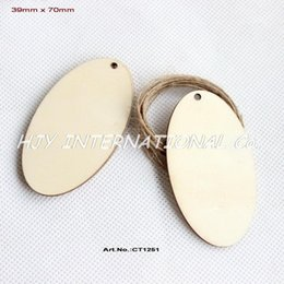"""Wholesale unfinished wood - Wholesale- (50pcs lot) 70mm Unfinished Blank Wood Oval Key Chain Wedding Favor Gift Tag Save the Date Laser Cut 2.8"""" -CT1251"""