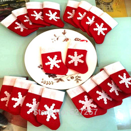 Wholesale Party Supply S - Mini Christmas Stockings Christmas Decoration Supplies Decorations Festival Party Ornament