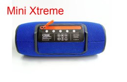 Wholesale Phone Strap Button - Bluetooth Mini Xtreme Drum Speaker Portable Wireless Outdoor Speakers with strap SoundBox Subwoofer Smart Mini Stereo Hifi for Phone