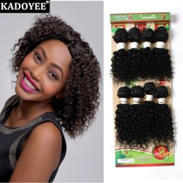 Wholesale Jerry Wave 14 Inch - 8pcs lot Brazilian virgin hair 8-14inch jerry curly loose wave deep wave natural ombre color human hair bundles no tangle no shedding