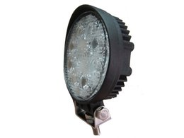 "Wholesale Led Work Lamp 12v Round - Round 4.3"" Inches 24W Truck Led Work Light 12V 24v Waterproof IP68 High Power Led Work Lamps for Jeep ATV 4x4 Tractor"