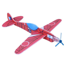 Wholesale Childrens Party Bags Wholesale - Flying Glider Planes Aeroplane Party Bag Fillers Childrens Kids Toys Game Prizes Gift Model