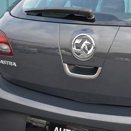 Pour 2010- 2014 Opel / Vauxhall Astra J Coffre de voiture Porte du coffre de porte arrière Poignée du couvercle de la cuvette Extérieur de voiture Styling Accessoires ? partir de fabricateur