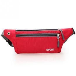 Wholesale Bum Bags - Waterproof Nylon waist pack for Men Women Fanny Pack Bum Bag Hip Money Belt travel Mobile Phone Bag