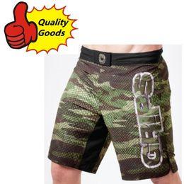 Wholesale Train Animal - In stock-MMA GRIPS CAMO SNAKE HYBRID TRAINING SHORTS Muay Thai MMA Shorts Fight Shorts-Black