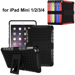 Wholesale Ipad Mini Cover Spiderman - Spider Hybrid Hard TPU PC Back Case with Kickstand for iPad Mini 1 2 3 4 Spiderman Cases Stand Cover iPad 6 iPad air 2 iPad 2   3   4 Holder