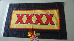 Bandiera XXXX birra lager, dimensioni 90X150CM, 100% polyster, bintang da