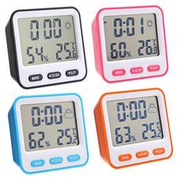 Canada Station météo Réveil Haute précision LCD Thermomètre numérique Hygromètre Intérieur Électronique Température Humidité Compteur Horloge Offre