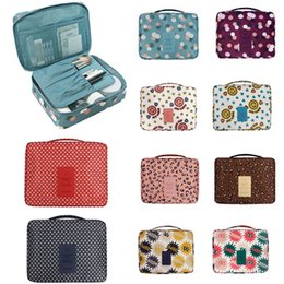Wholesale Toiletry Bag Sets - Women Makeup Bag Cosmetic Bags Bolso Beauty Case Ladies Cosmetics Organizer Toiletry Bag Kits Travel Wash Pouch Organizer Storage