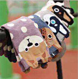 2019 южнокорейские носки 2016 новых женщин прекрасные собаки носки милый мультфильм sox лето южнокорейский стиль мода хлопок печати трубки носки этаж meias носки HJIA631 дешево южнокорейские носки