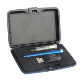Wholesale Mini Weeding - vape pen kit Dab Pens O Pen 510 thread 280mAh wee vaporizer Bud Touch Kit .3 .4 .5 .6 1ml Vape Cartridge Mini USB Charger Plastic Case