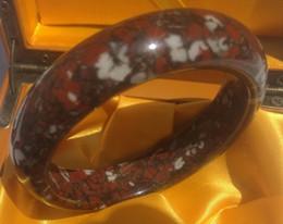 Porcellana di rame bracciali online-Bracciali La giada Royal China, durezza Mohs di 6, contiene solo sostanze utili di rame e ferro. Braccialetto No. C21 con un diametro interno di