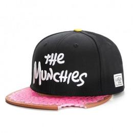 Wholesale Snapback S - Fashion Brand C&S MUNCHIES CAP Pink girl baseball cap snapback hat sports hip hop adult sun active cap for men women