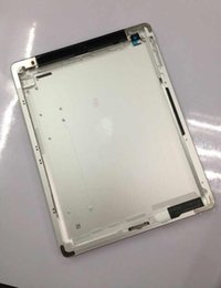 Wholesale Ipad Back Cover Housing - For iPad 2 3 4 Back Cover Housing Wifi Version And 3G Metal Back Battery Door Rear Housing Case Replacement Parts For Apple iPad 2 3 4