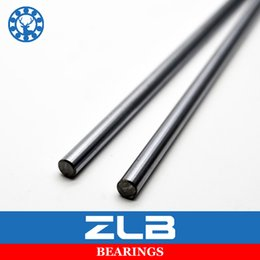 Wholesale 8mm Linear - Wholesale- Linear Shaft 8mm WCS Bearing Axis Router Round Chrome Steel 600mm Hardened 3D Printer Linear Motion Slide Rod Rail CNC