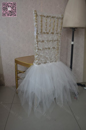 Wholesale Cheap Wedding Supplies Decorations - Link For Romantic Lace Chair Sashes Tulle Chair Covers Cheap Beautiful Wedding Decorations Elegant Wedding Supplies C016