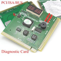 Wholesale Motherboard Test Diagnostic - Newest Motherboard Post Tester Card 4-Digit LCD Display PC PCI-E Analyzer Tester Diagnostic Post Test Card