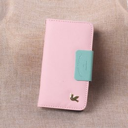 Wholesale Photo Frame Styles - For iPhone 6 4.7 Plus 5.5 inch Stand Wallet Style PU Leather Case Photo Frame Phone Bag Cover With Card Holder For iphone 5s iphone 6 cases