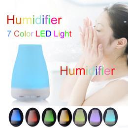 Nouveau haute qualité 100ml 7 couleur LED humidificateur diffuseur pour diffuseur d'aromathérapie à ultrasons diffuseur d'huile essentielle DHL / Fedex Livraison gratuite ? partir de fabricateur