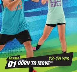 Wholesale Move Sales - Hot Sale BTM Course New Routine RELEASE BORN TO MOVE 13-16 YRS Children Kids Aerobics Fitness Exercise Videos