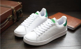 Wholesale Sneaker Sports Shoes Women S - Hot sale Lowest Price NEW STAN SMITH SNEAKERS CASUAL LEATHER MEN'S AND WOMEN 'S SPORTS RUNNING JOGGING SHOES MEN FASHION CLASSIC FLATS