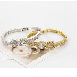 Wholesale Gold Plate Obi - Fashion jewelry for woman South Korea high-grade foreign trade order bracelet wholesale Obi belt buckle shape bangle - E61